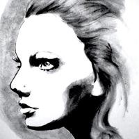 200x200 Legiti[Mint] Designs Black And White Watercolor Portrait