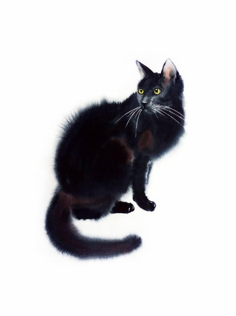 770x1027 Black Cat