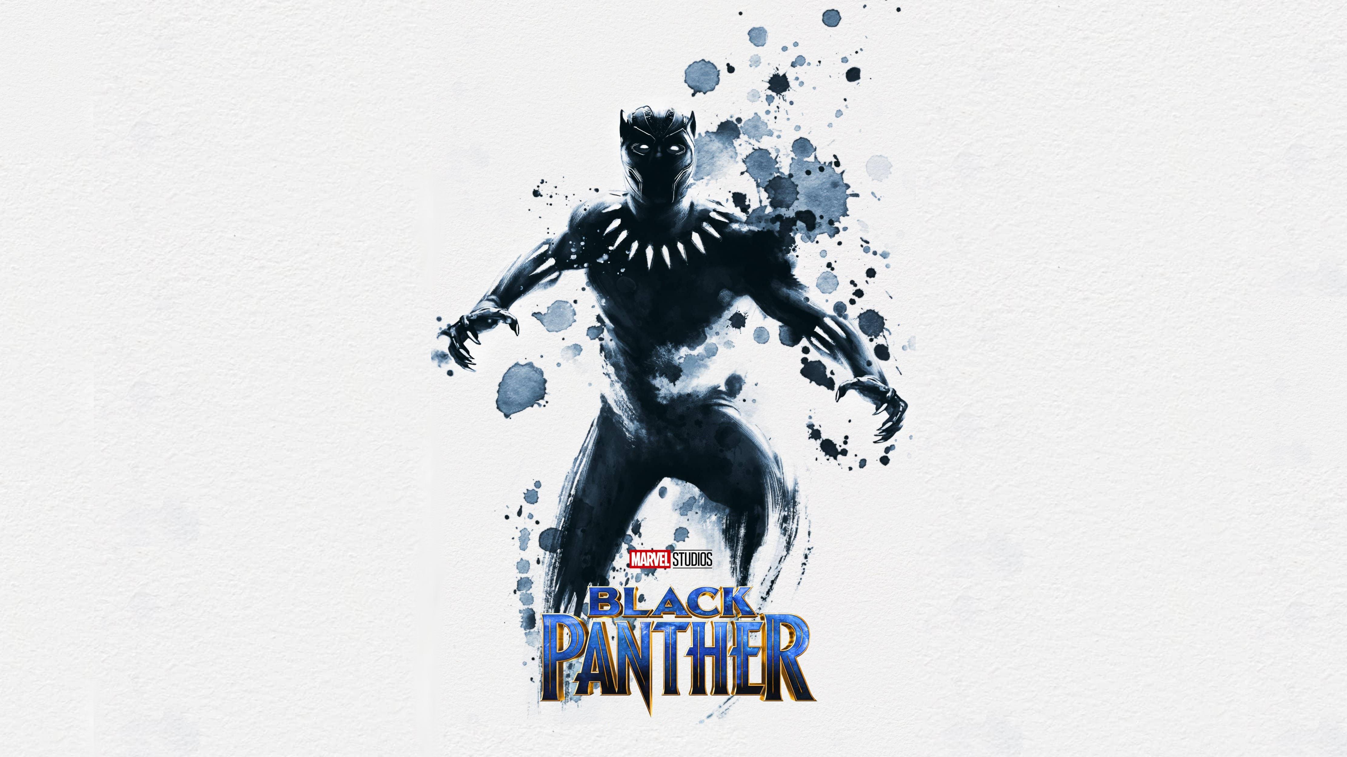 4444x2500 Black Panther Watercolors Myconfinedspace