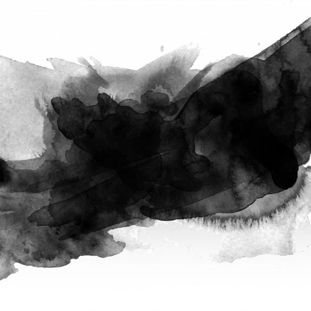 626x626 Abstract Background With Black Watercolour Stain Vector Free
