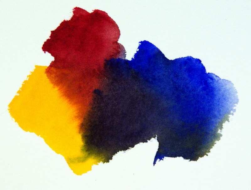 800x606 Color Mixing Formula,mixing Bright Versus Dull Watercolors