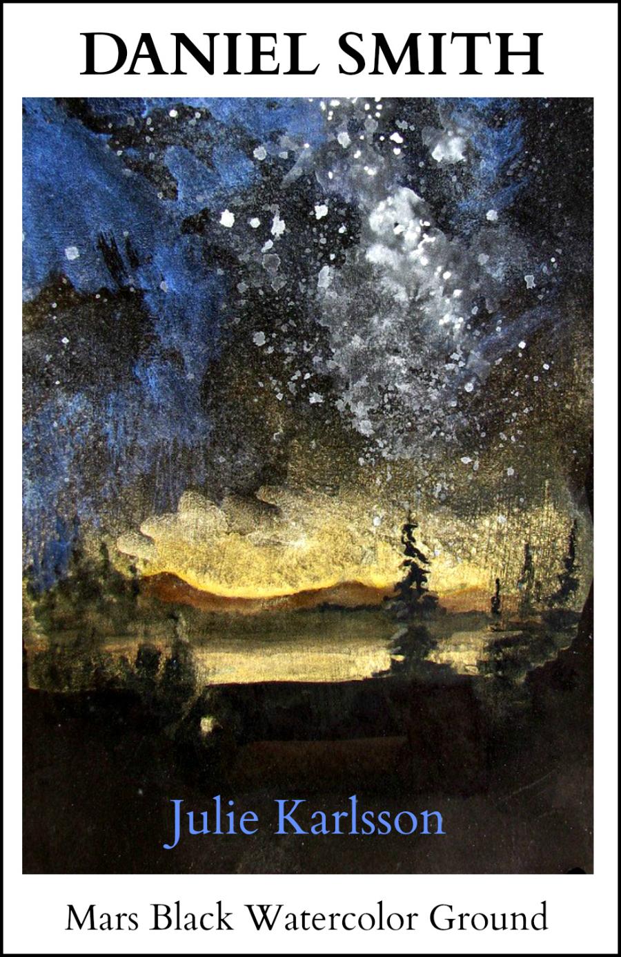 900x1385 Daniel Smith Mars Black Watercolor Ground Recycle A Watercolor
