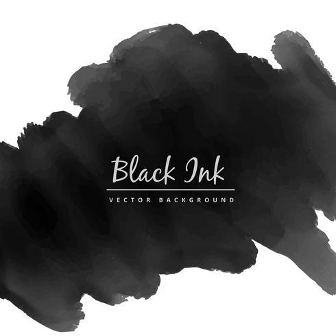490x490 Black Watercolor Ink Stain Vector Design Illustration