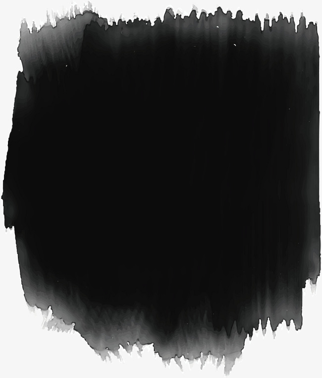 650x762 Black Watercolor Brushes, Black Vector, Watercolor Vector, Vector