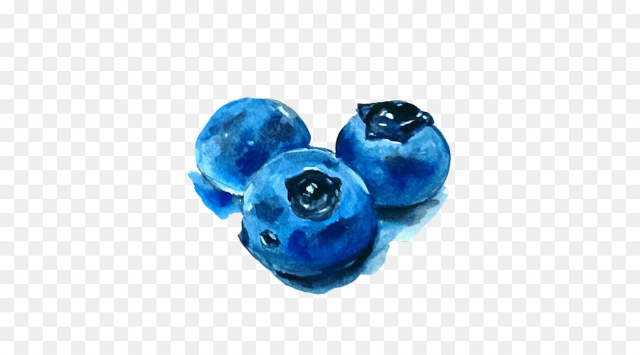 900x500 Download Watercolor Painting Blueberry Blueberry Blooming