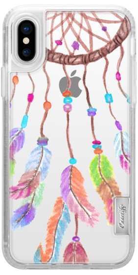 282x560 Hand Painted Bohemian Watercolor Dreamcatcher Casetify