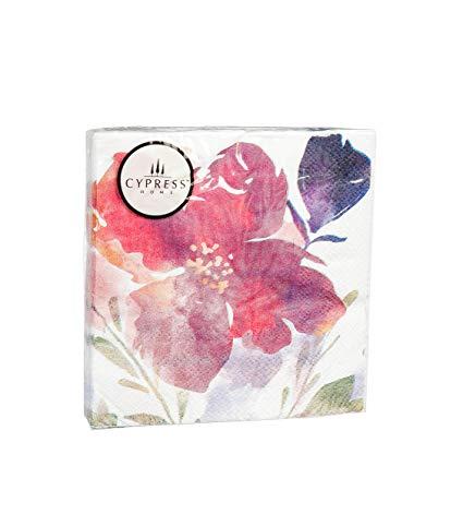 425x482 Cypress Home Boho Watercolor Floral Foil Paper