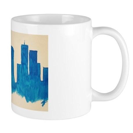 460x460 Boston Skyline Mugs