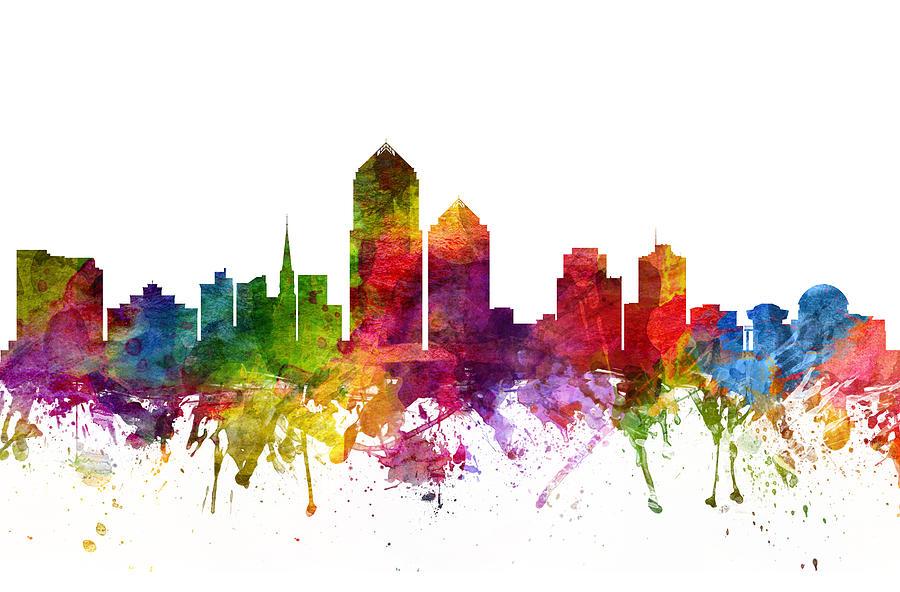 900x592 Boston Skyline Wall Art