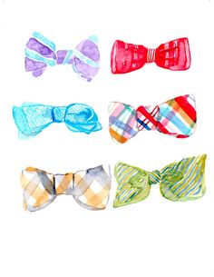 236x305 Fashionable Friday Bow Ties Pretty Pastels