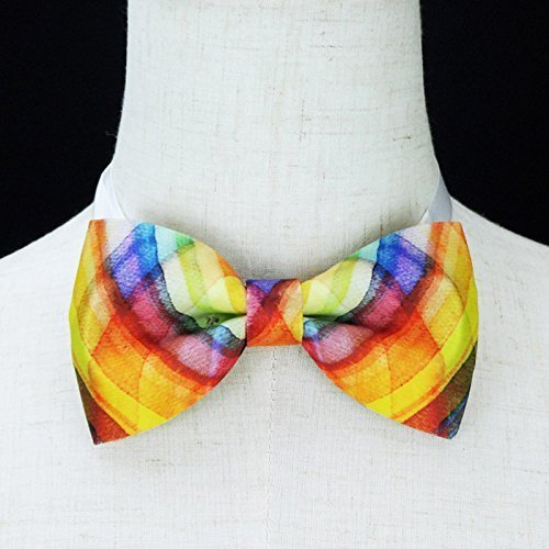 500x500 Watercolor Bow Tie, Handmade Bow Tie, Personalize Bow