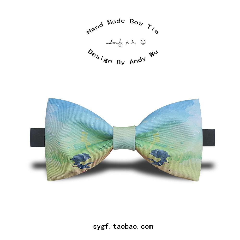 1000x1000 Man Fashion Bow Tie Bowtie Lady Neckwear Male Papillon Kravat