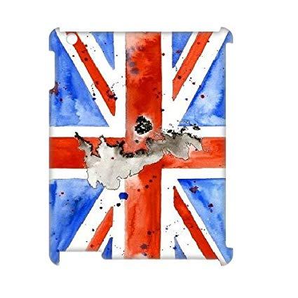 British Flag Watercolor