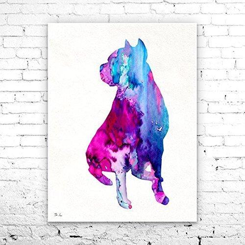 Bull Watercolor