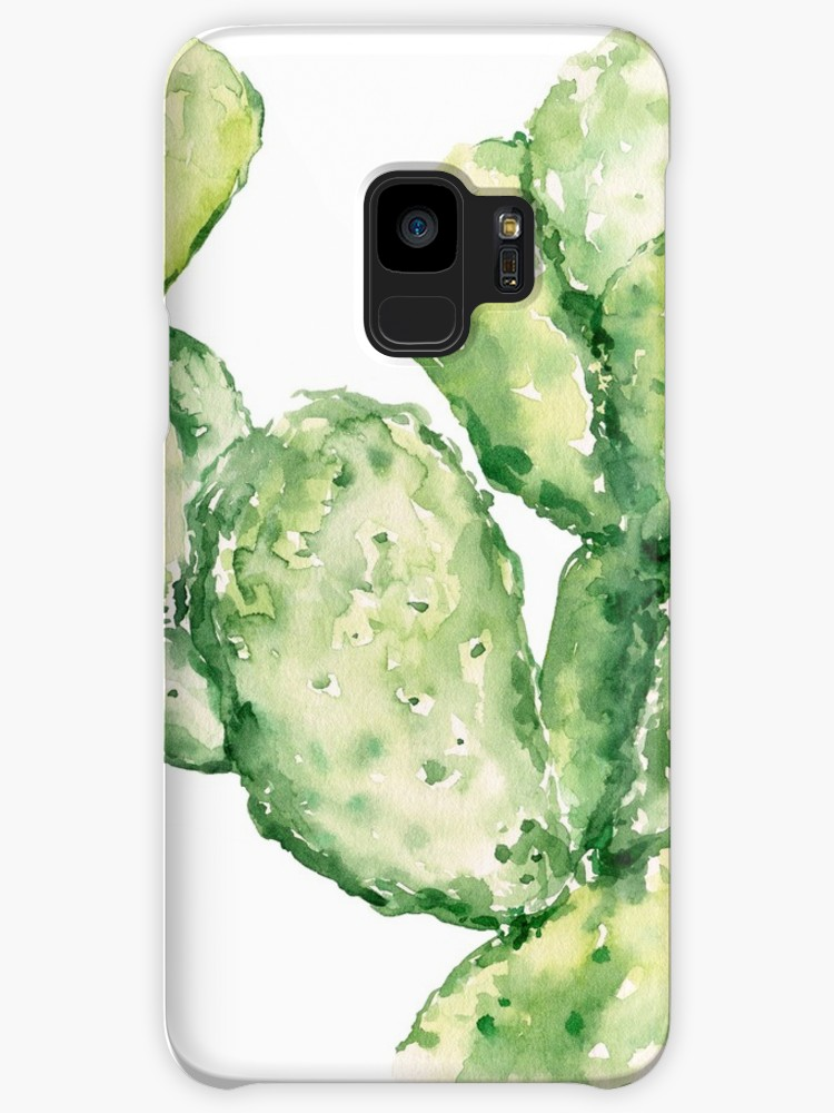 750x1000 Cactus Watercolor Print No.221 Cases Amp Skins For Samsung Galaxy
