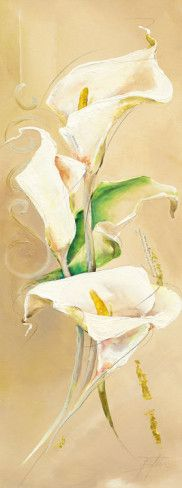Calla Lily Watercolor Painting