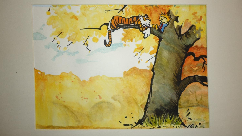 1500x844 Wall Art Ideas Calvin And Hobbes Wall Art (Explore