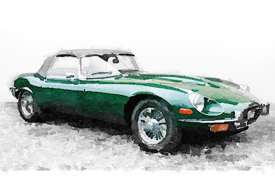 Car Watercolor