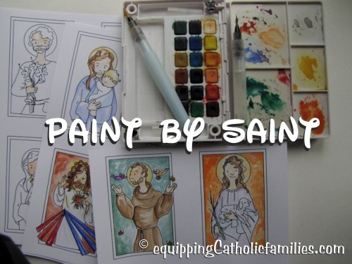 500x375 Paint By Saint With Watercolor
