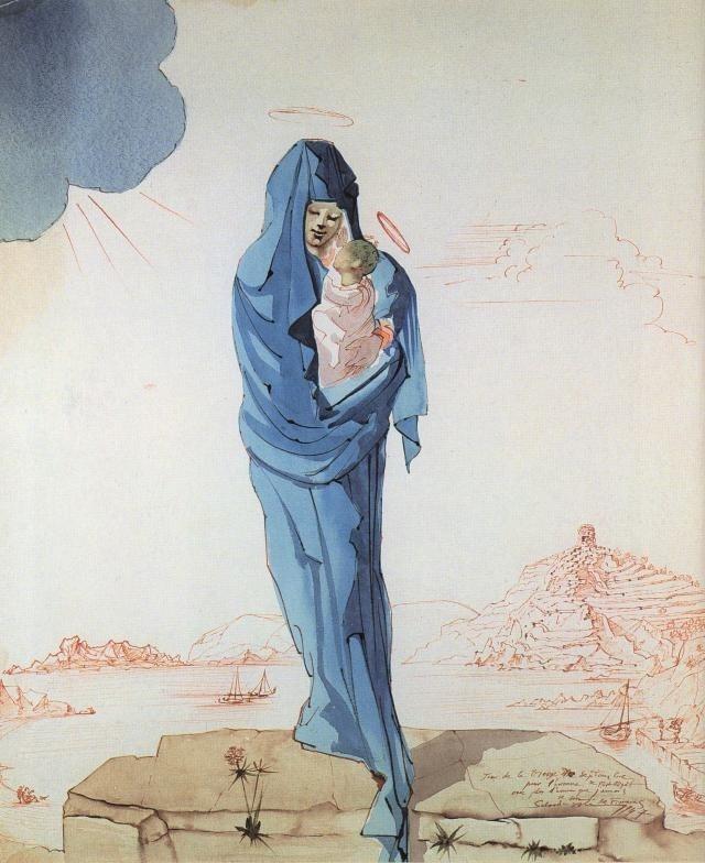 640x784 Best Catholic Imaging Madonna Dali Virgin Images On Designspiration