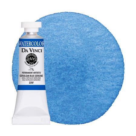 Cerulean Blue Watercolor