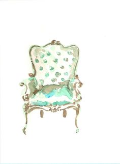 Chair Watercolor
