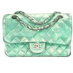 Chanel Watercolor Bag