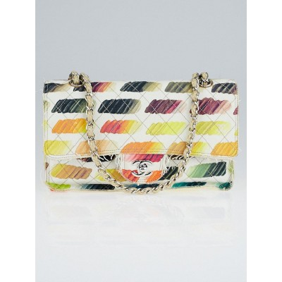 d4f684431409 400x400 Chanel Multicolor Quilted Canvas Colorama Watercolor Flap Bag