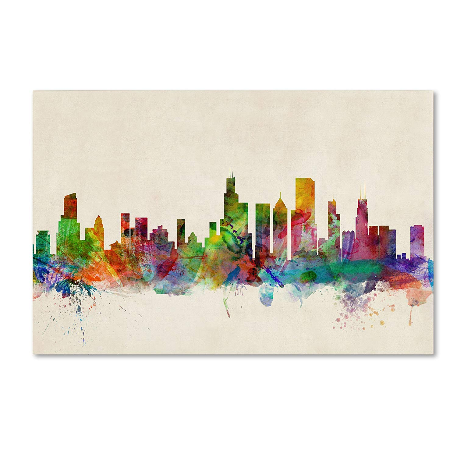 Chicago Watercolor