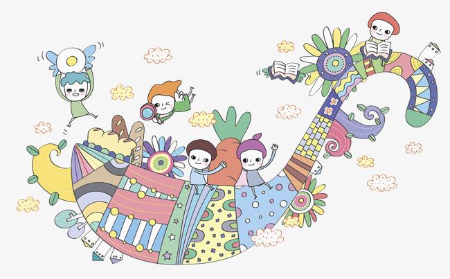 650x403 Watercolor Kids, Watercolor Clipart, Kids Clipart, Cartoon Png