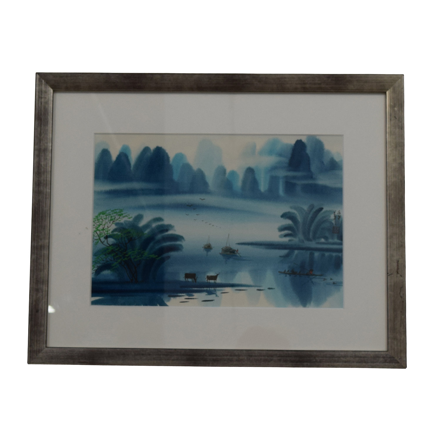 Chinese Watercolor Landscape Paintings