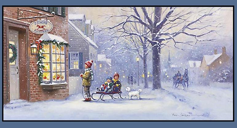 771x418 Christmas Snow Scenes Images