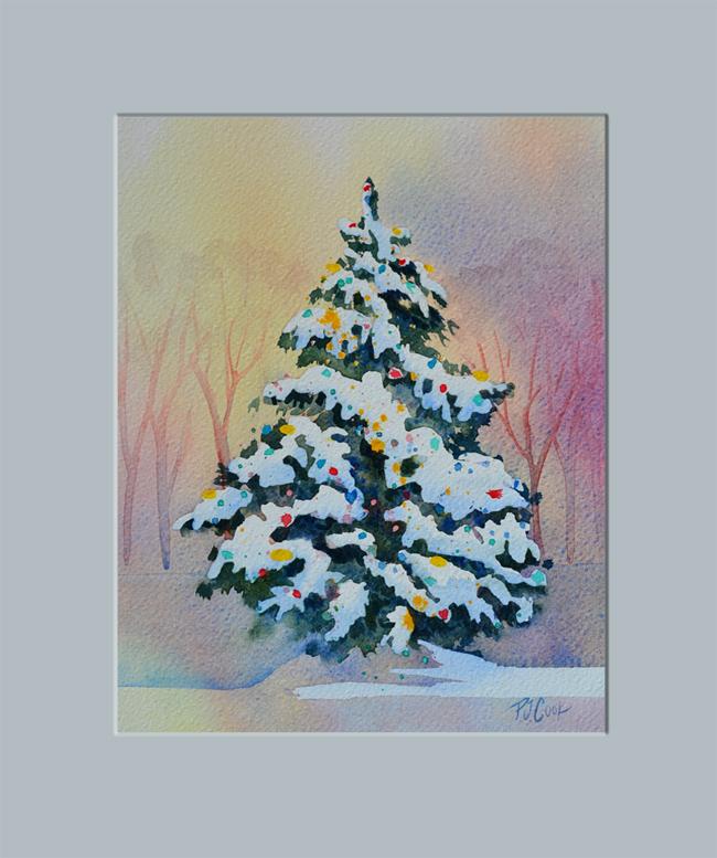 650x777 Christmas Tree Painting