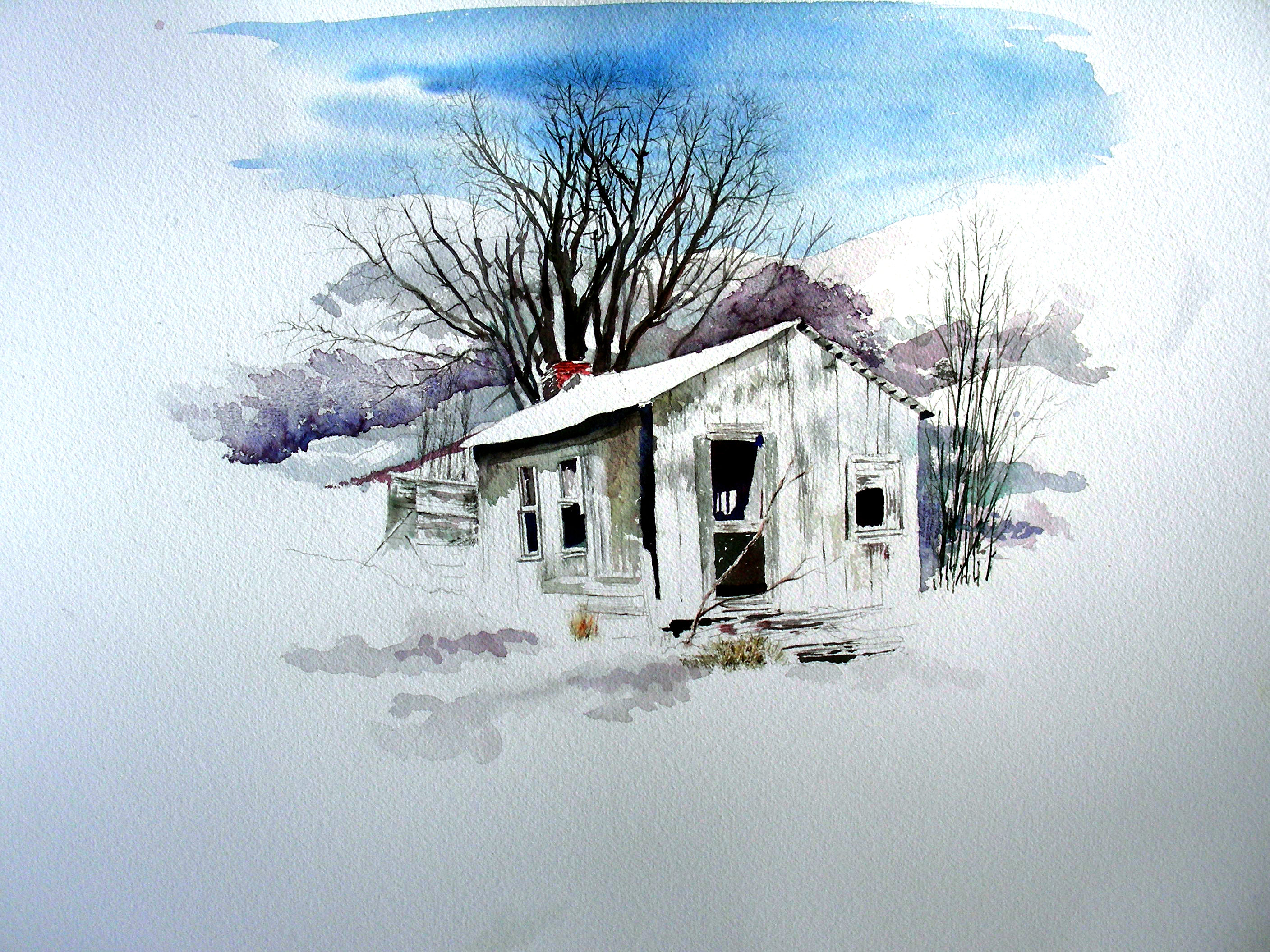 2816x2112 Christmas Watercolor Activity In The Man Cave Recollections 54