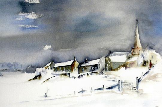541x358 Snow Scene