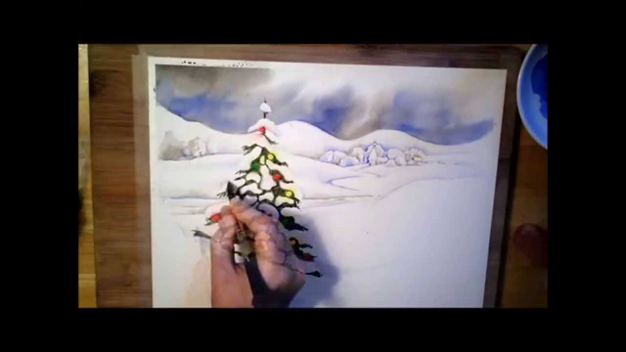 1280x720 A Christmas Tree