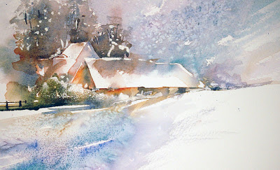 400x243 Watercolours With Life A White Christmas