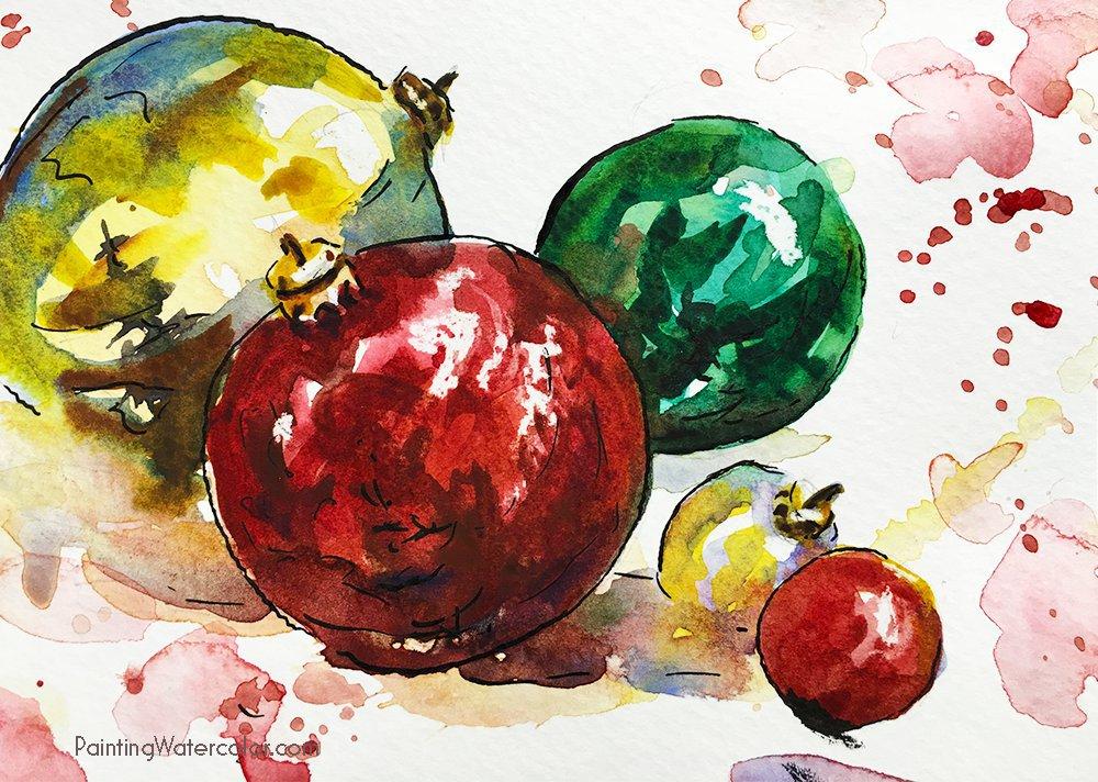 1000x712 12 Days Of Christmas Cards, Deer