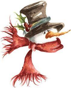 236x291 54 Best Watercolor Christmas Art Images Watercolor