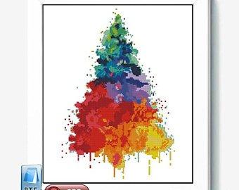 340x270 Easy Christmas Watercolor Paintings