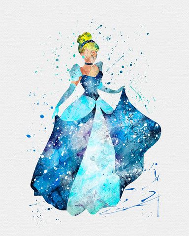 384x480 Disney Princesses Watercolor Art Print Everything Disney