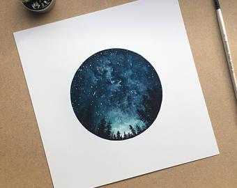 340x270 Space Art Etsy
