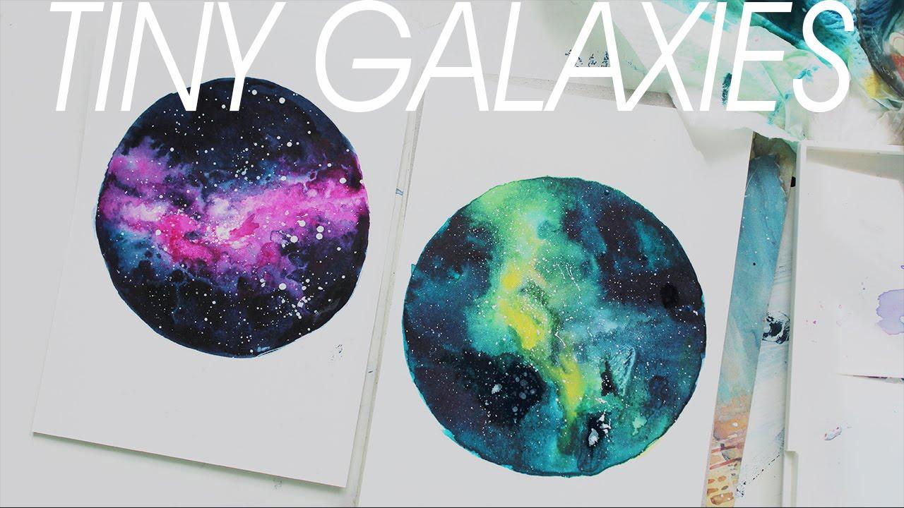 1280x720 Tiny Nebula] Watercolor Painting