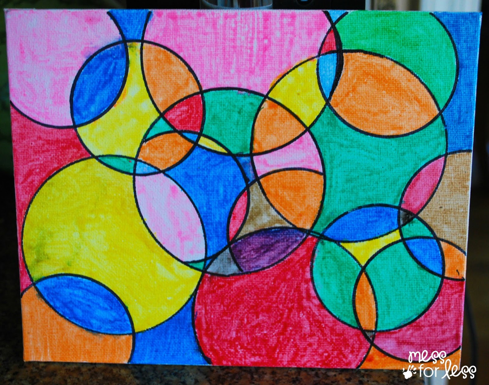 1600x1259 Watercolor Circle Art