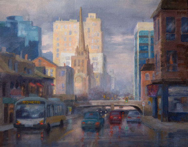 600x469 Learn How To Paint Cityscapes In Oil, Watercolor And Pastel!