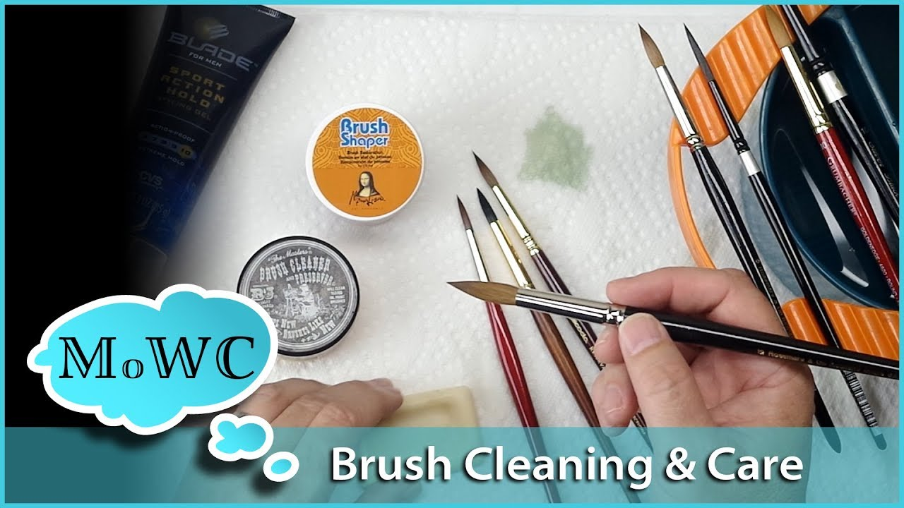 1280x720 Cleaning Amp Caring For Your Watercolor Brushes