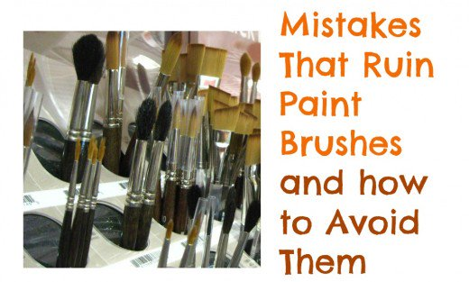 520x313 How To Ruin Paint Brushes Feltmagnet