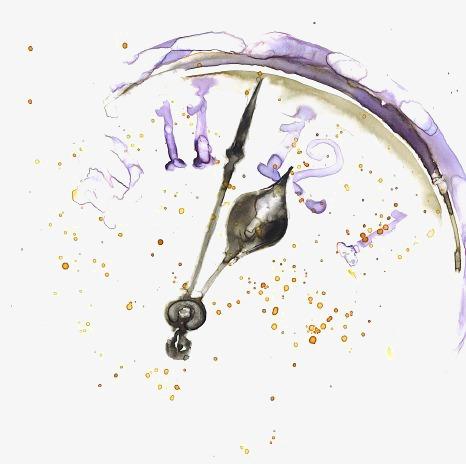 466x464 Watercolor Clock, Watercolor Clipart, Clock Clipart, Clock Png