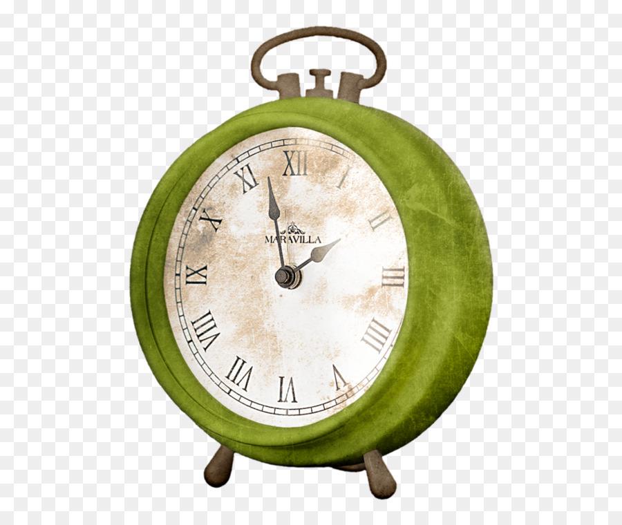 900x760 Alarm Clock Watercolor Painting