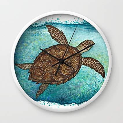 425x425 Society6 Hawksbill Sea Turtle By Amber Marine